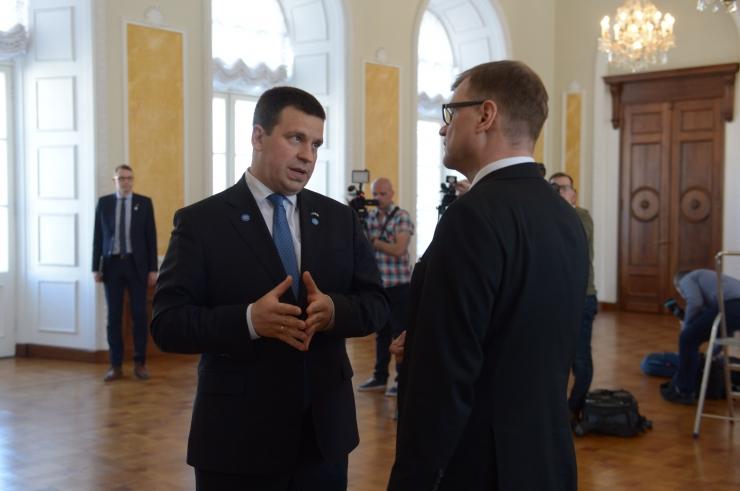 FOTOD! Ratas ja Sipilä arutasid Euroopa Liidu teemasid