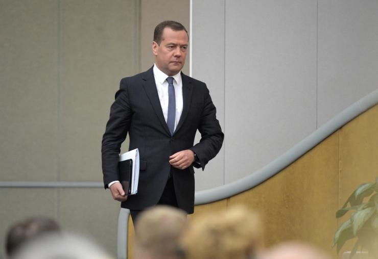 Vene parlament hääletas Medvedevi taas peaministriks