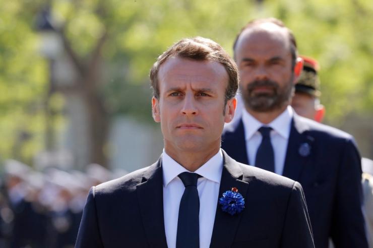 Macron pidas telefonivestluse Trumpiga