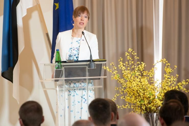 President Kaljulaid: olla eestlane tänases Euroopas on uhke tunne