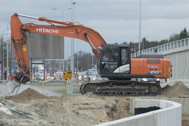 Haabersti ristmikul algavad ulatuslikud asfalteerimistööd