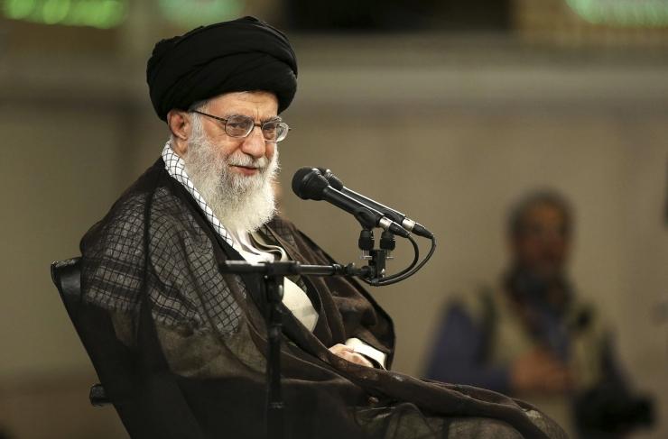 Khamenei: Iraan astub ilma Euroopa tagatisteta tuumaleppest välja
