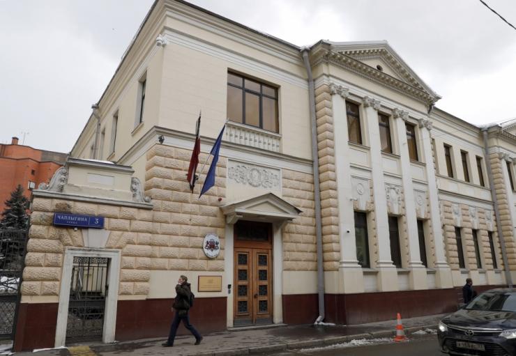 Moskvas rünnati Läti saatkonda