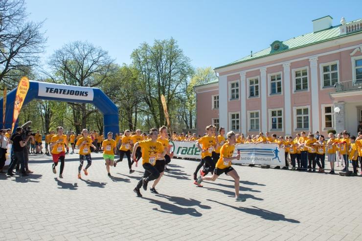 FOTOD! Rohkem kui 12 000 last jooksis heategevuse nimel