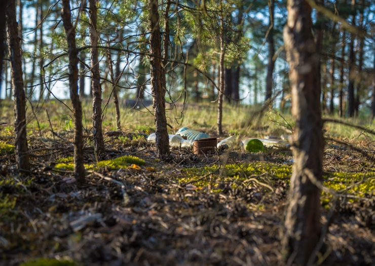 Piknikupidajad jätavad endast maha korralageduse