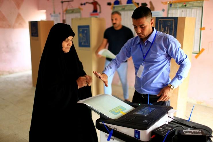 Iraagis algasid esimesed parlamendivalimised pärast võitu IS-i üle