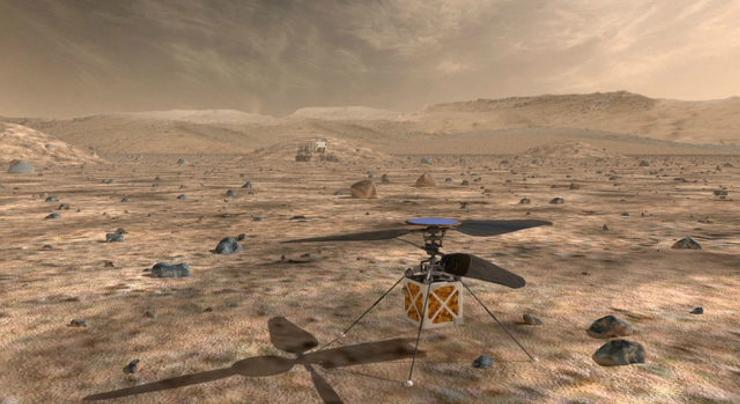 NASA saadab 2020. aastal Marsile minihelikopteri
