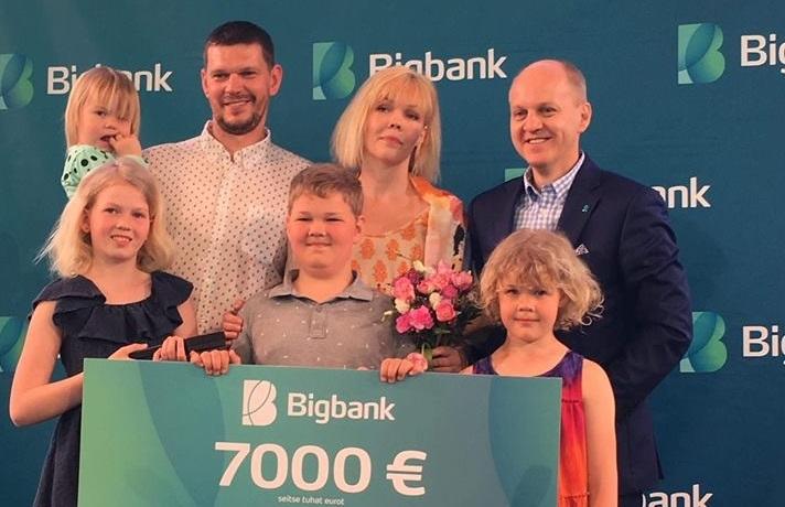 Aasta suurpere tiitli pälvis Saaremaa pere