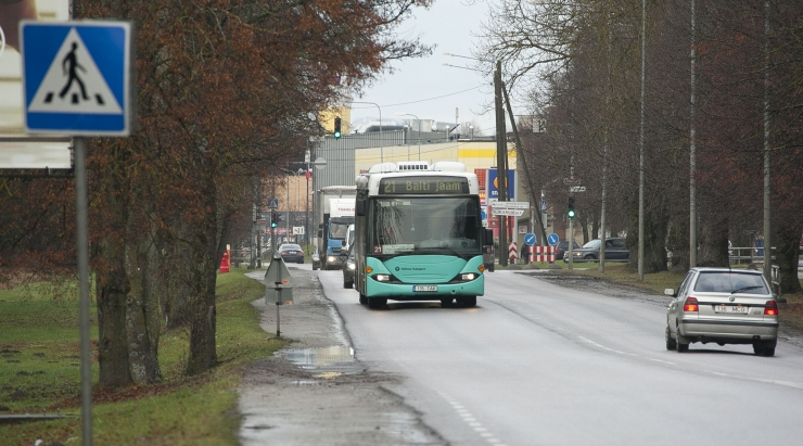 Rannamõisa tee remont sunnib hulga bussiliine ümbersõidule