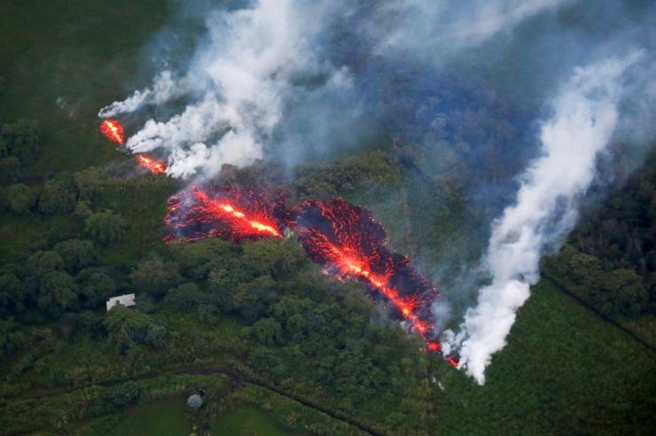 Hawaii vulkaanist purskas taas laavat