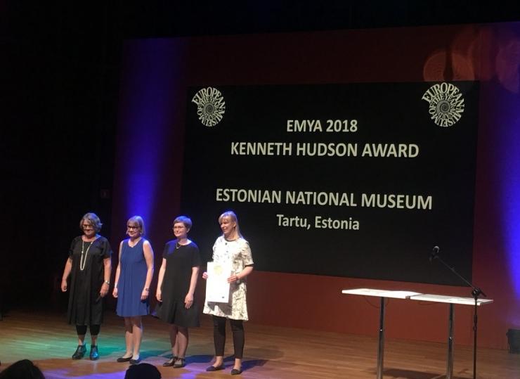 ERM pälvis ühe hinnatuima auhinna Euroopas