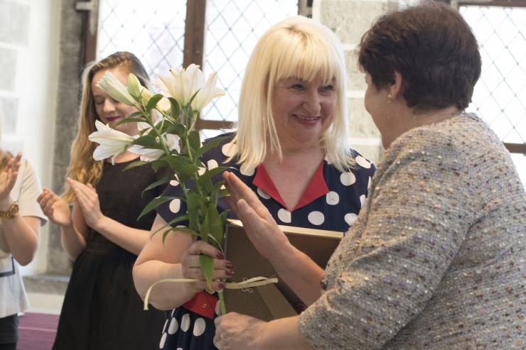 FOTOD! Eesti Punase Risti Tallinna Selts tänas Raekojas sotsiaalhoolekande töötajaid, vabatahtlikke ja toetajaid