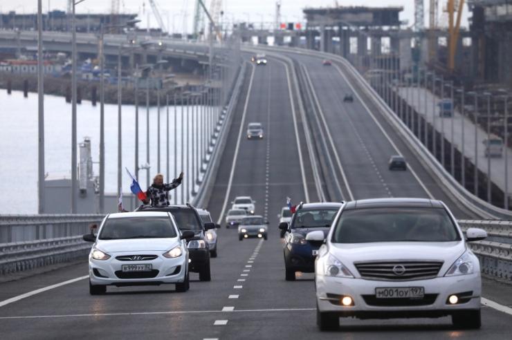 USA mõistis hukka Krimmi ja Venemaad ühendava silla avamise