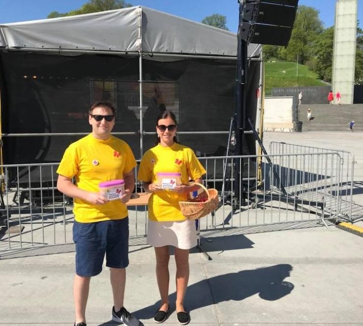 Kesklinna valitsus kogus lastehaiglale poole tuhande euro annetusi