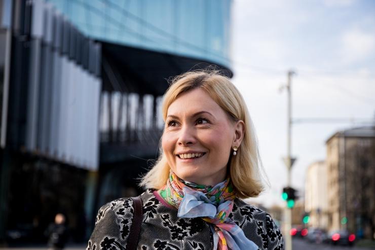 Riina Sikkut Stockholmis: soolisest võrdõiguslikkusest võidavad ka mehed