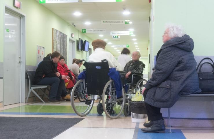 Erakorralise meditsiini osakonda pöördujate arv väheneb