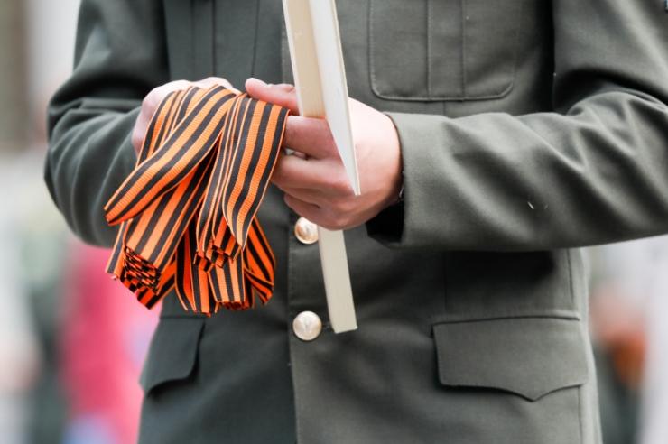 Leedus tahetakse kehtestada rahatrahv Georgi lindi kandmise eest