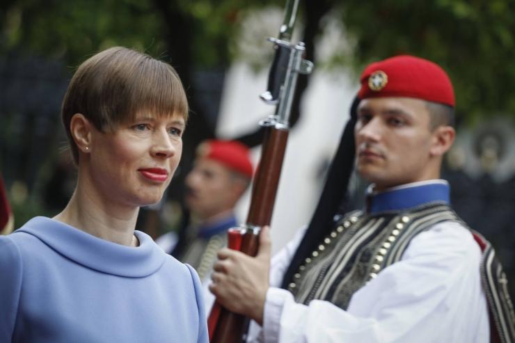 Kaljulaid: EL-i välispiiri valvamine on rändepoliitika nurgakivi