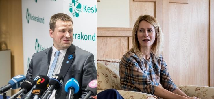 Toetus Jüri Ratasele järgmise peaministrina nullis Kaja Kallase eduseisu
