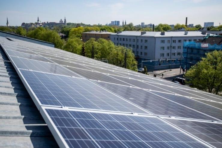 Tallinna energiaagentuur sai katusele päikeseelektrijaama