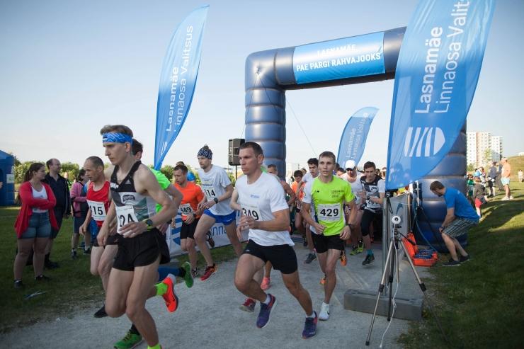 Pae pargi rahvajooksul osales rekordarv osalejaid