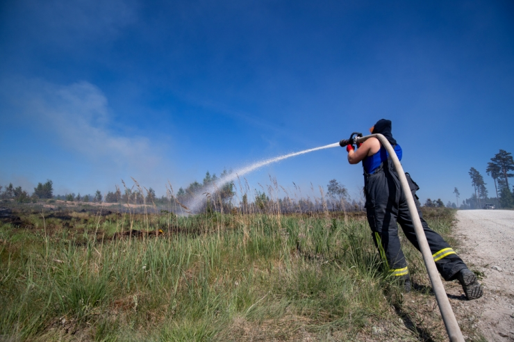 Algas suure tuleohuga aeg, metsas lõkke tegemine on keelatud