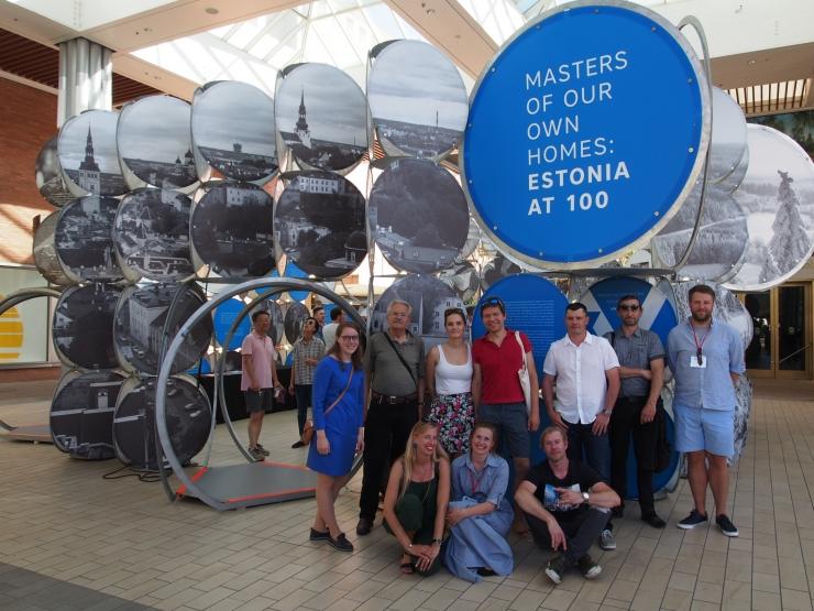USA-s avati enneolematult suur Eesti-teemaline rändnäitus