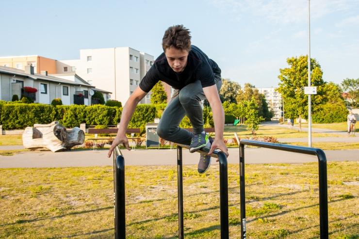 Lasnamäel algavad tasuta Street Workout treeningud