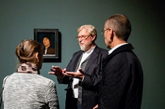 Kumus avati juubeliaastaks loodud Michel Sittowi esimene isikunäitus