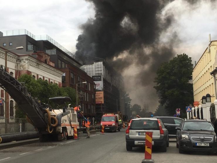 Endover: Volta arenduse põlengul ei ole olulisi mõjusid