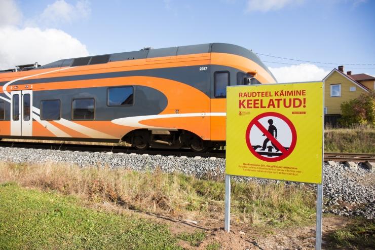 Eesti Raudtee teostab Tallinnas ja Harjumaal umbrohutõrjet
