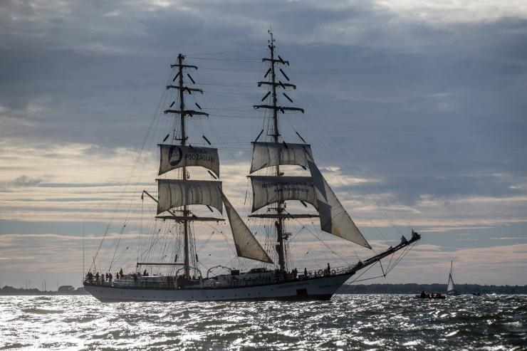 Tallinn on maailma suurima purjeõppelaevade avamereregati üks viiest ametlikust sadamast