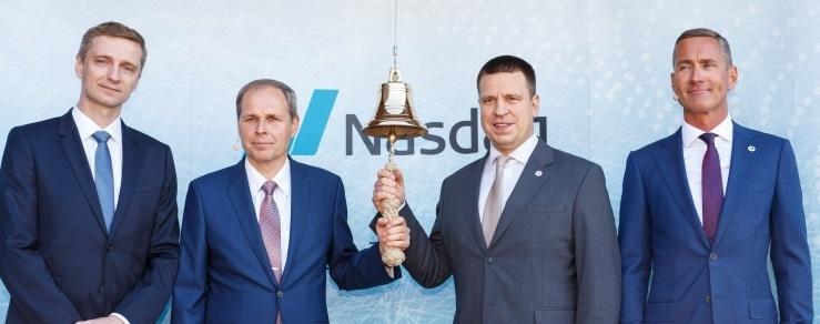 FOTOD! Tallinna Sadama aktsia tõusis minutitega ligi 20 protsenti