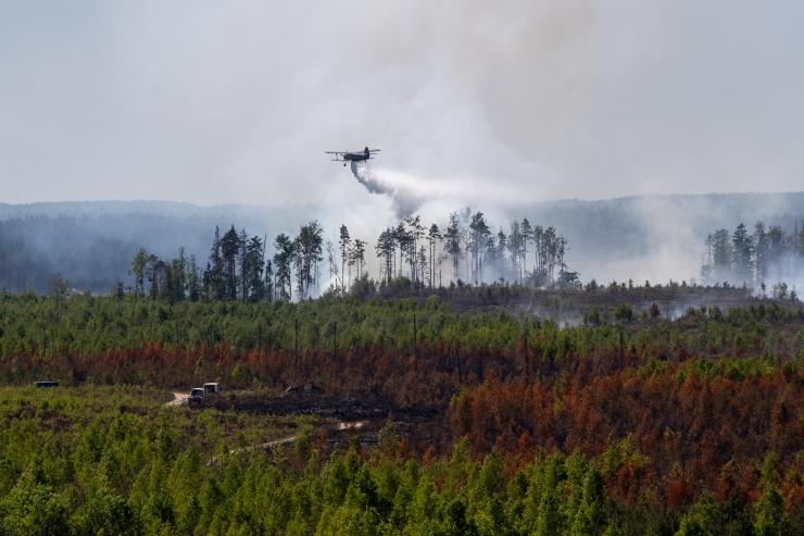 Päästjad ootavad Vikipalu põlengu kustutamisele vabatahtlikke