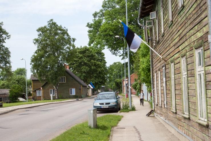Homme heisatakse Eesti lipud leinalipuna