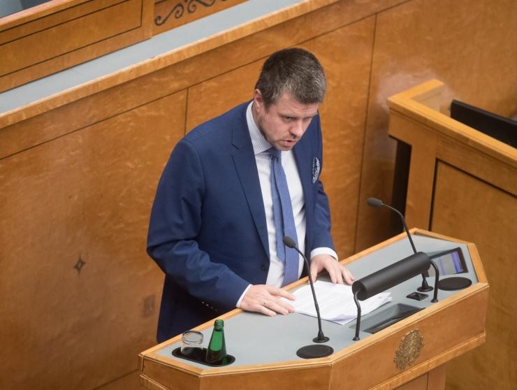 Reinsalu võttis isikuandmete kaitse seaduse eelnõu menetlusest tagasi