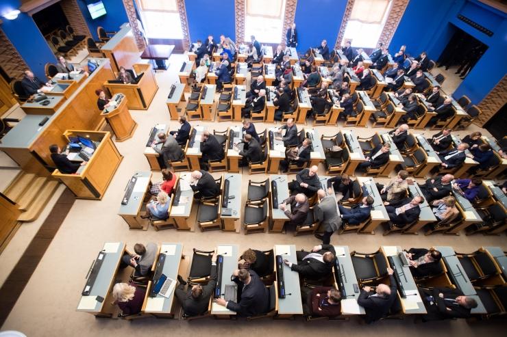 Riigikogu pidas täna kevadistungjärgu viimase istungi