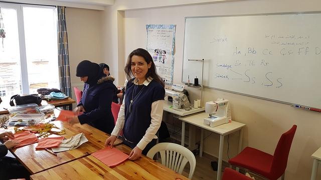 Mondo vabatahtlik toetab Süüria pagulasi Istanbulis