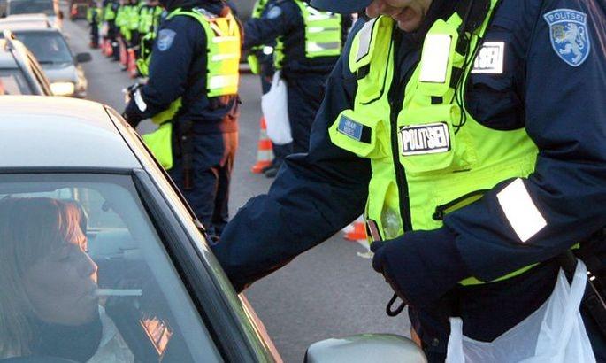 Politsei tabas ööpäevaga 19 joobes sõidukijuhti