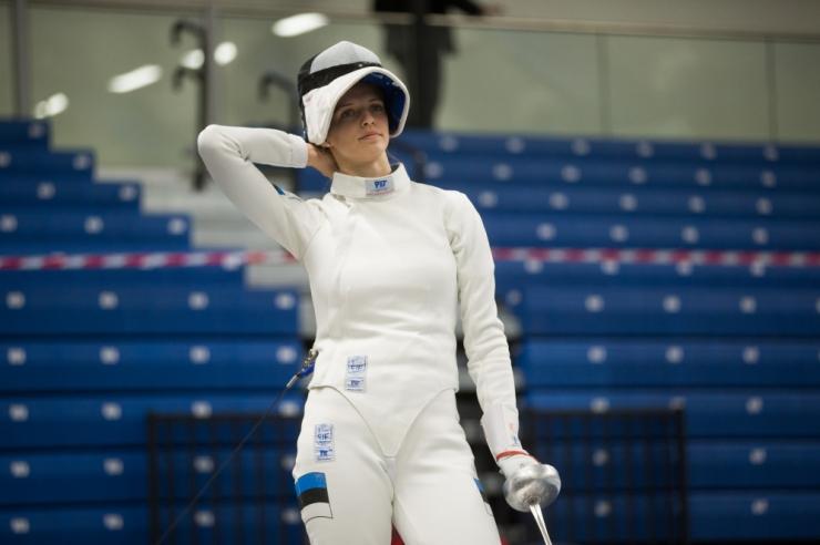 Katrina Lehis tuli vehklemises Euroopa meistriks