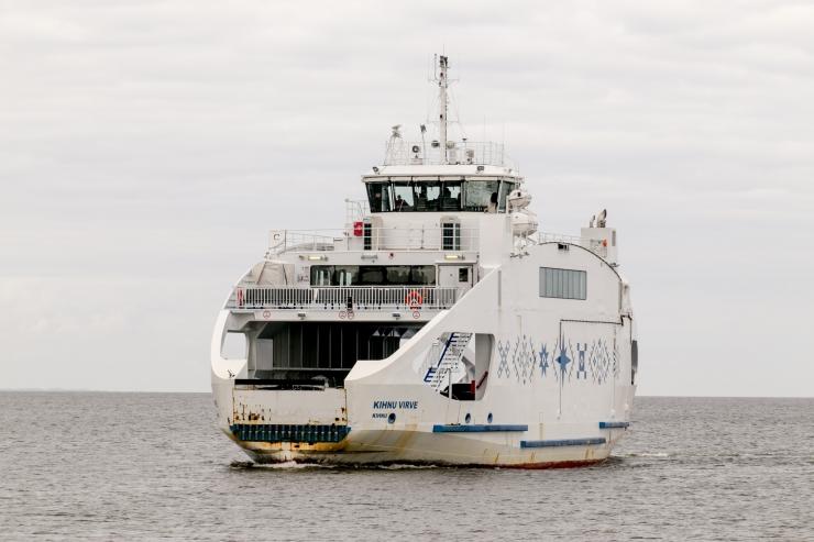 Tugev tuul häirib laevaliiklust Kihnu ja Ruhnu liinil