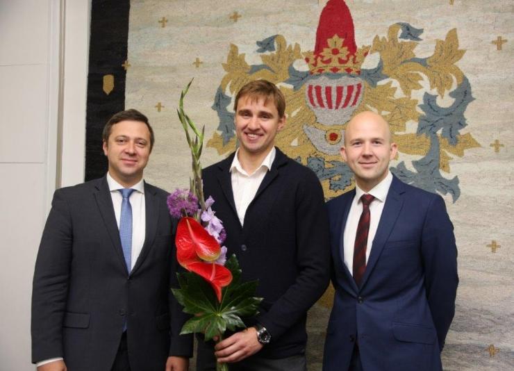 Tallinn premeerib vehkleja Nikolai Novosjolovit ja tema treenerit