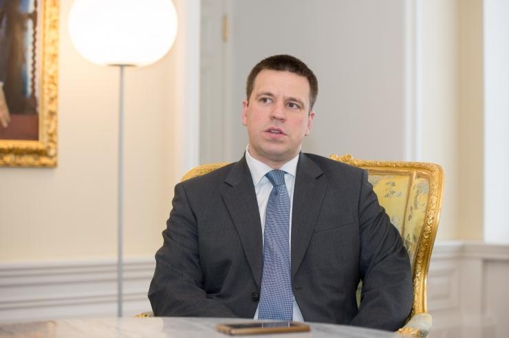 Peaminister Ratas õpilasfirmadele: tänan, et teete enam kui igapäevane töö nõuab