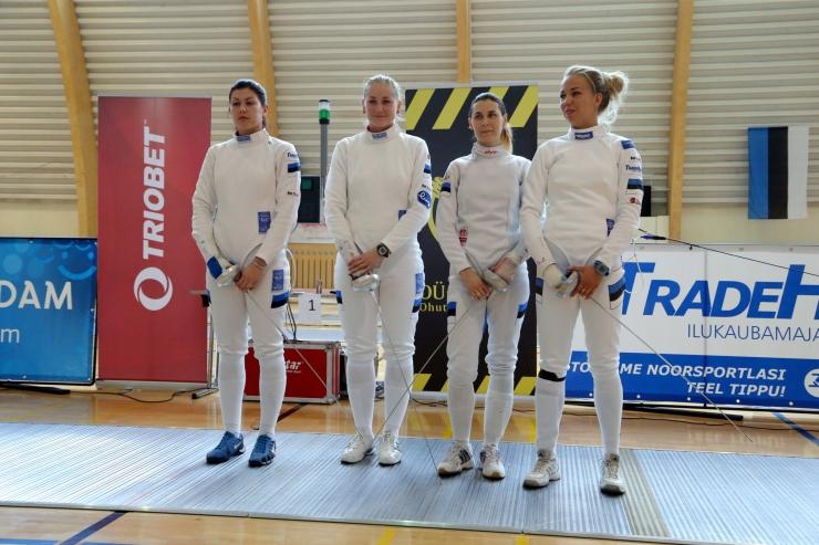 Eesti epeenaiskond võitis EM-il pronksi