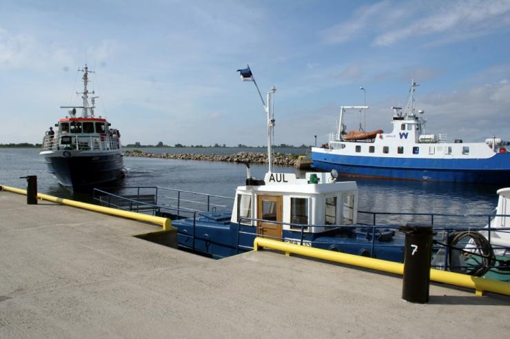 Tormituul võib väikesaared laevaühenduseta jätta