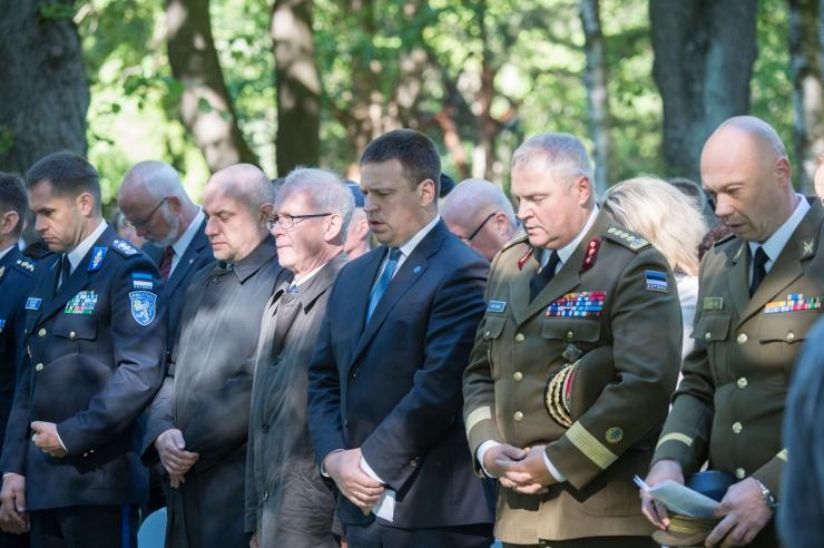 FOTOD! Ratas: me kõik kanname vastutust vaba Eesti hoidmisel ja edasiviimisel
