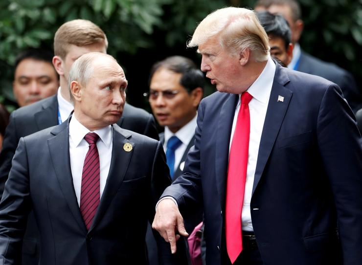 """Kreml: Putin ja Trump kohtuvad """"kolmandas riigis"""""""