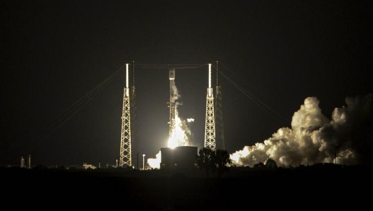 """SpaceX lennutas rahvusvahelisse kosmosejaama """"lendaju"""""""