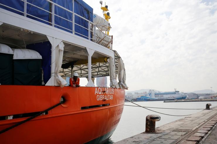 Hispaania päästelaev korjas Liibüa lähistel merest 60 migranti