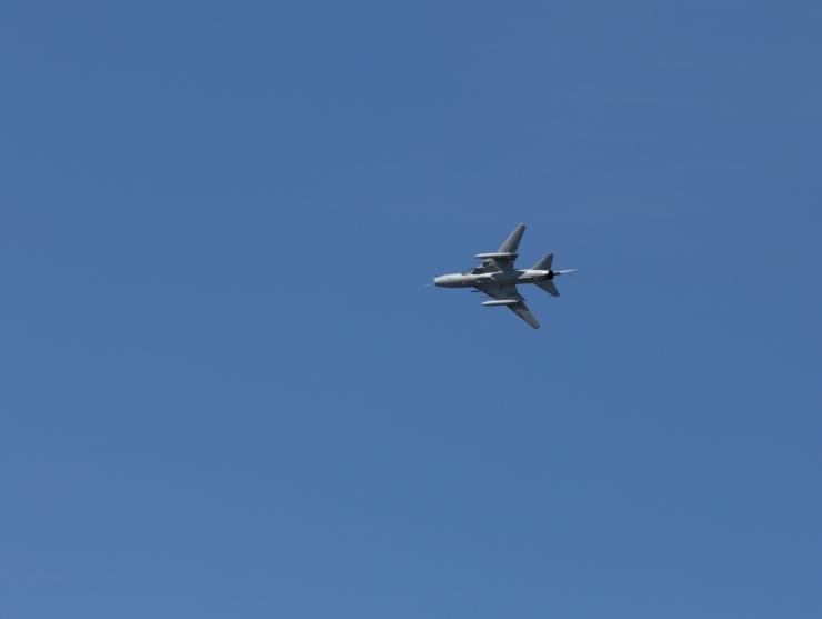 Läti piiri lähedal märgati Vene sõjalennukit